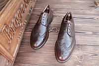 Броги мужские Geox original кожанные, 28,5 см, 43,5 размер.Код: 062