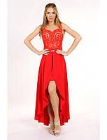 Коктейльное платье трансформер с ручной работой, р. 34, 36, 38, 6 цветов