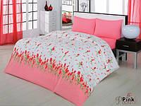 Комплект постельного белья двуспальный 175х210 Classi Yasmin розовый