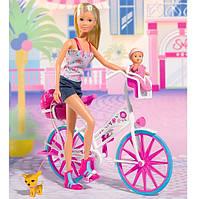 Кукла Steffi с Малышом на Велосипеде 5739050