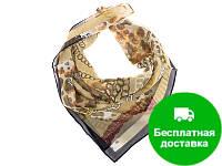 Лучший корпоративный подарок к праздникам платок крепдешин шейный женский VENERA (ВЕНЕРА) C270204