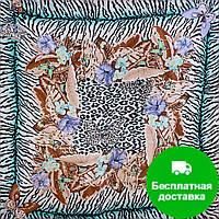Лучший корпоративный подарок к праздникам платок шелковый шейный женский VENERA (ВЕНЕРА) C270089-15