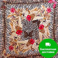 Лучший корпоративный подарок к праздникам платок шёлковый шейный женский VENERA (ВЕНЕРА) C270089-16