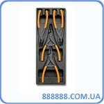 Набор плоскогубцев для стопорных колец 4 предмета T145 24240145 Beta