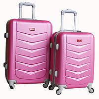 Гламурный пластиковый чемодан