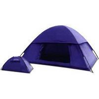 Двухслойная палатка для непродолжительных походов