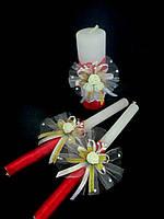 """Набор свечей """"Семейный очаг"""" цвета в ассортименте"""