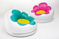 Детское надувное кресло INTEX 68574 с цветком