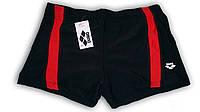 Плавки-шорты мужские, плавательные. Красные.  Arena. Большие размеры. В621.1