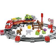 Конструктор «Ecoiffier» (3068) Сельская железная дорога
