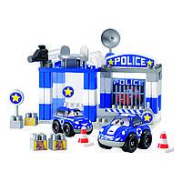 Конструкторы «Ecoiffier» (3081) Полицейский участок, 57 элементов