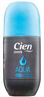 Дезодорант-антиперспирант шариковый мужской Cien Deo Roll-on men AQUA, 50 мл, Германия