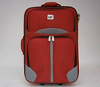 Дорожный чемодан на колесах Красный Доставка по Киеву и Новой почтой по Украине