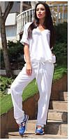 Спортивный костюм женский.Ткань лен натуральный.Размер 42,44,46.TP 1008