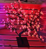 """СВЕТОДИОДНОЕ ДЕРЕВО """"Бонсай цветущая сакура"""" 60(красный)"""