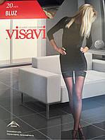 """Эксклюзивные чулки """"Visavi"""" ажурная коронка"""