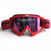 Кроссовые очки Tanked HС-01 (тонированное стекло)