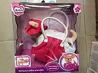 """Детская интерактивная игрушка собака """"Кикки""""  в сумочке M1620, M1621, M1622"""