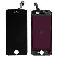 Дисплей (LCD) для iPhone 5S + touchscreen black orig