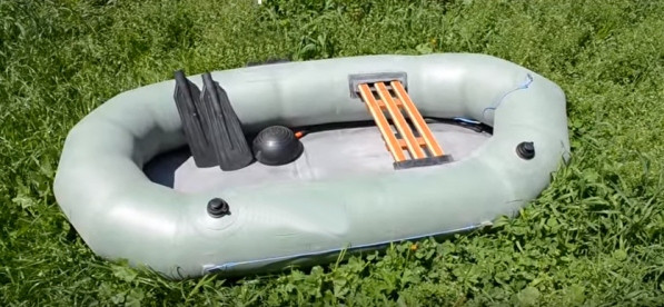 лучшая одноместная лодка резиновая