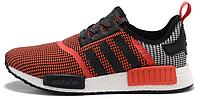 Мужские кроссовки Adidas NMD Runner Primeknit (адидас нмд) красные
