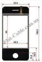 Сенсор iPhone №032 53.5х108.5