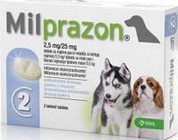 Милпразон для щенков и мелких пород собак до 5 кг.,2 таб.