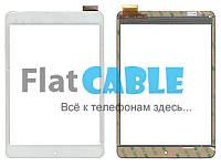 Сенсор №104.5 Тачскрин для планшета Pixus Play Seven LT80028A0 197x132 (40pin) White