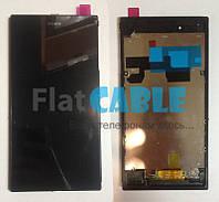 Дисплей + сенсор Sony C6802 XL39h Xperia Z Ultra, C6806 Xperia Z Ultra, C6833 Xperia Z Ul FRAME ORG