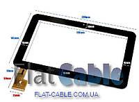 Сенсор №070 Емкостной тачскрин для планшета Sanei N91_Ampe A96 черный TPC0235 PC0859