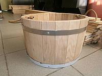 Ведро-запарник для веника дубовое 30л