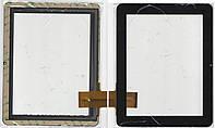 Сенсор №049 тачскрин для планшета Sanei N90, Ampe A90 чёрный TPC0161 60PIN размер 238*185mm