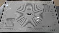 Коврик силиконовый мерный 50х32 см (Platinym. 100% silicone) (код 05035)