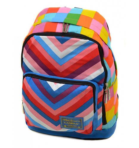Городской молодежный рюкзак 24 л. Lanpad B1500-tis разноцветный