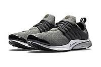 Кроссовки Nike Air Presto  ( серые на белой подошве)