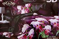 5D Постельное белье Евро размер East Comfort - красивые цветы