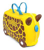 Детские чемоданы на колесах Trunki Jiraff