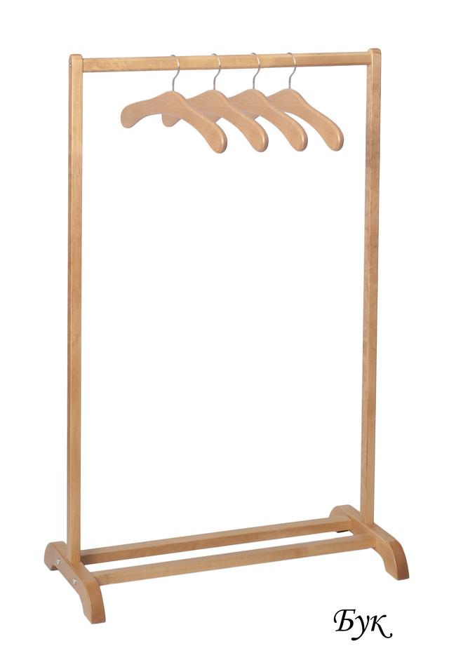 Деревянная вешалка напольная своими руками