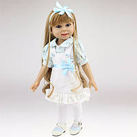 Кукла Ева, реборн, 45 см, полностью из винила, в подарочной упаковке