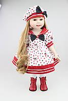 Кукла Луиза, реборн, 45 см, полностью из винила, в подарочной упаковке