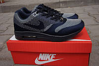 Кроссовки Nike Air max 87 темно-синие