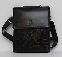 Отличная мужская сумка-мессенджер. Деловой стиль. Высокое качество. Интернет магазин. Код: КДН359