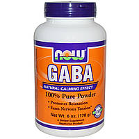 GABA NOW Foods 170 g (340 порций)