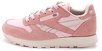 Женские кроссовки Reebok Classic (рибок) розовые