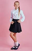 """Школьная юбка для девочки """"Бант"""""""