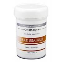 Christina Sea Herbal Beauty Dead Sea Mud Mask — Маска красоты на основе грязи Мертвого моря жирной и проблемной кожи Кристина, 250 мл