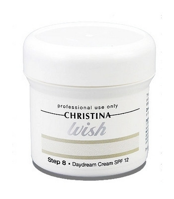 Christina Wish Daydream Cream SPF12 —Дневной крем с SPF 12 (шаг 8) Кристина, 150 мл