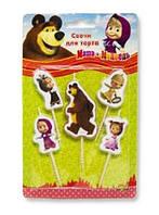 Свічки  Маша і ведмідь