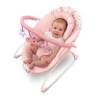 Детское кресло-качалка розовое - Цветочные сны Bright Starts 7003