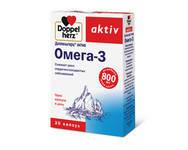 """Квайссер """"Доппельгерц актив Омега-3""""- капсулы для сердца и сосудов (30капс,Германия)"""